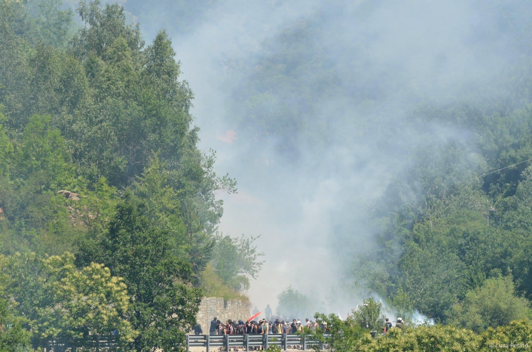 28 juin 2015: le Valsusa noyé de gaz lacrymogènes