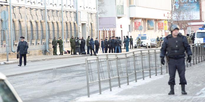 Déploiement policier après l'explosion