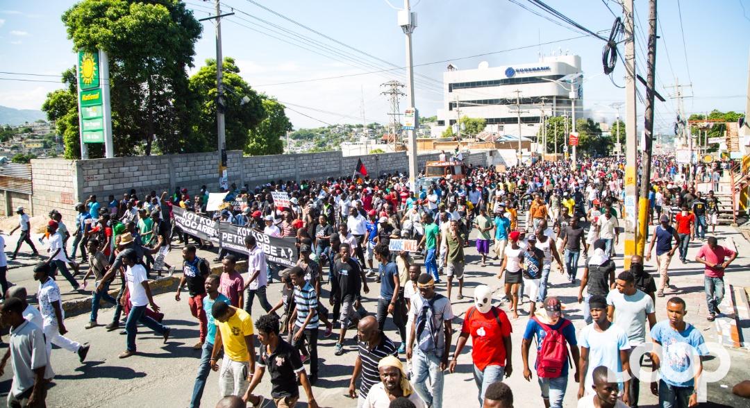 Manifestation dimanche à Haïti