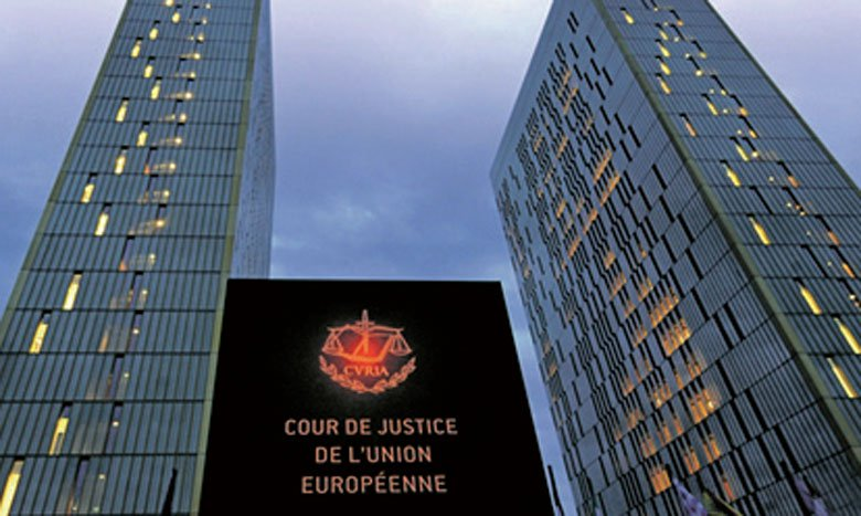 Le siège de la CJUE