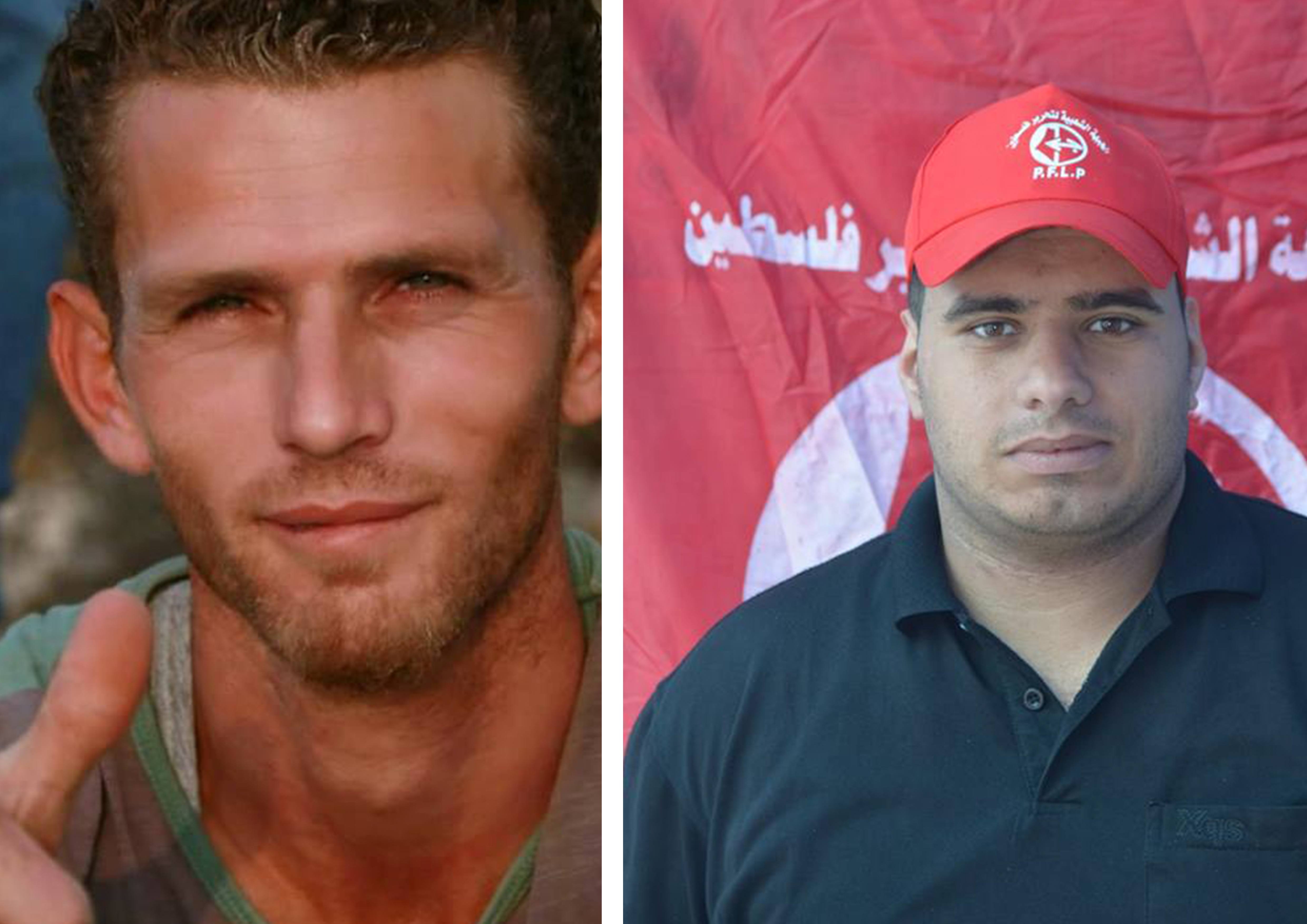 Mohammed Ibrahim Shraiteh (à gauche) et Mohammed Al Tatari