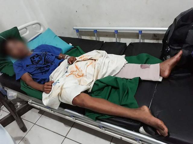 Un des civils blessé dans la fusillade