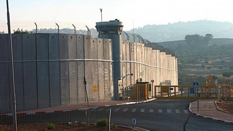Le mur israélien à Bethléem