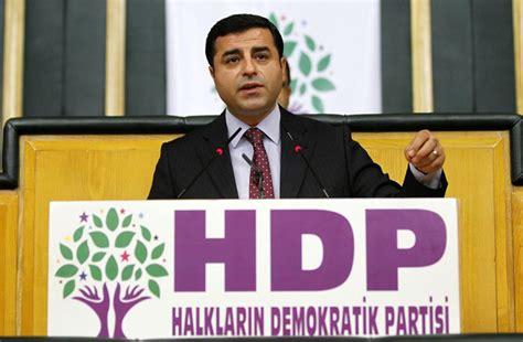 Selahattin Demirtaş militant du HDP condamnés à de la prison ferme (archive)