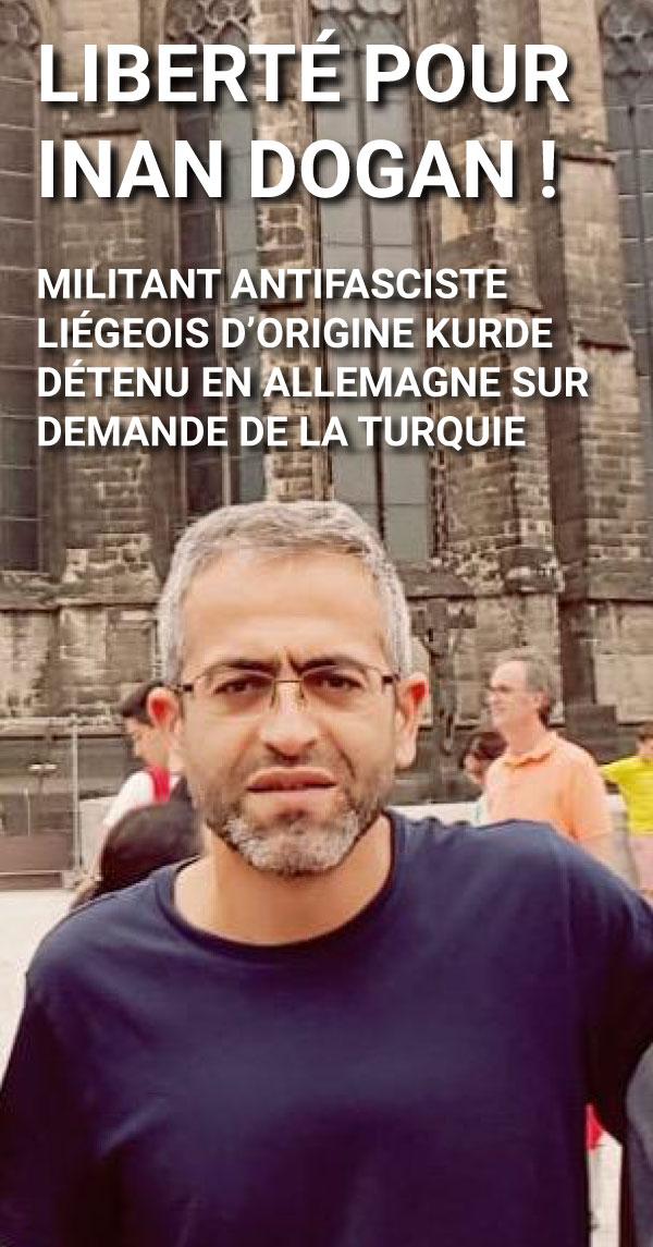 Liberté pour Inan Dogan