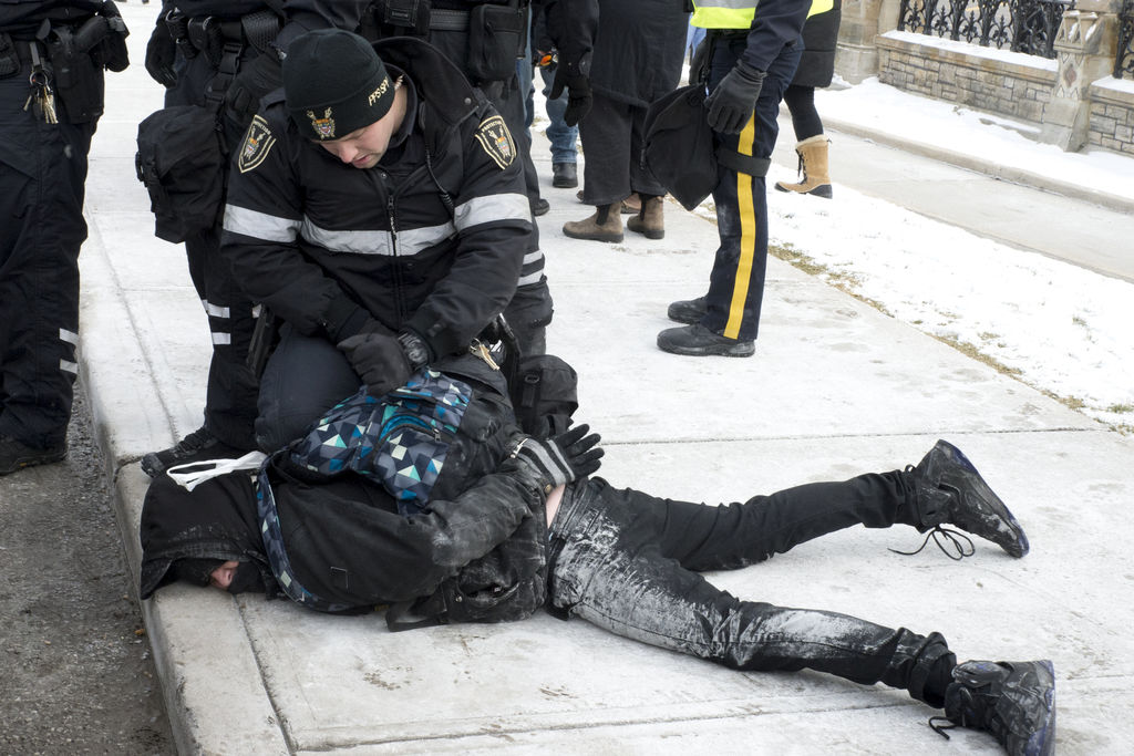 Arrestation samedi à Ottawa