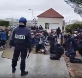 Les lycéens de Mantes-La-Jolie arrêtés