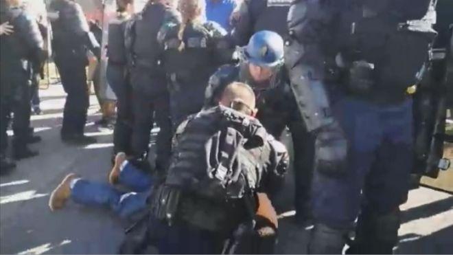 Arrestation de Jean-Marie Nomertin, Secrétaire Général du syndicat CGTG