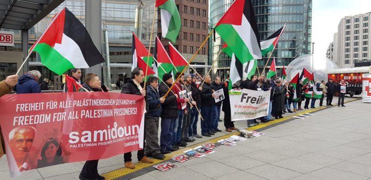 Rassemblement à Berlin pour la libération d'Ahmad Sa'adat et tous les prisonniers palestiniens