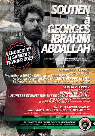 L'affiche des deux soirées de Bordeaux