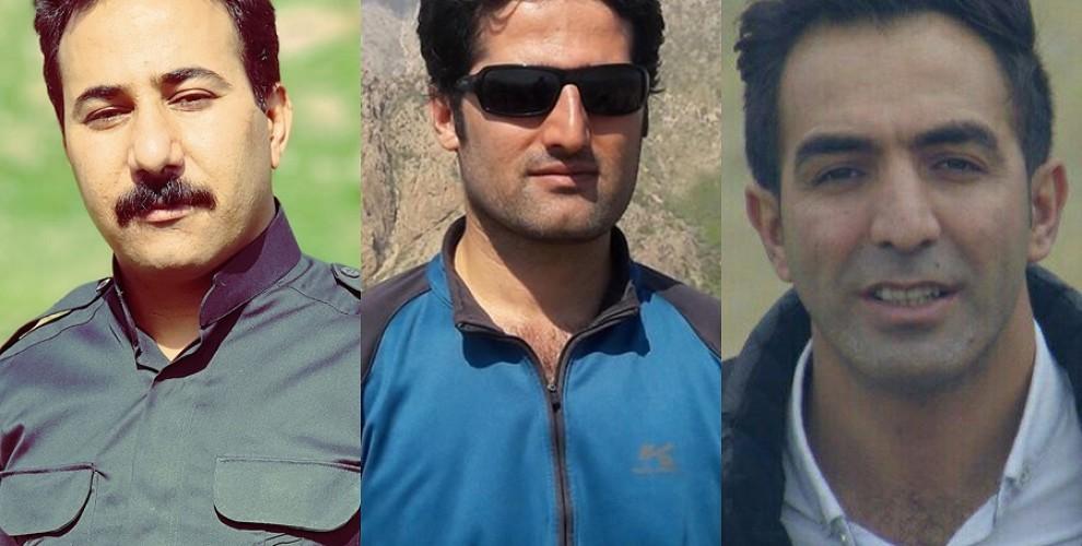 Fazel Ghaytasi, Reza Asadi et Hadi Kamangar