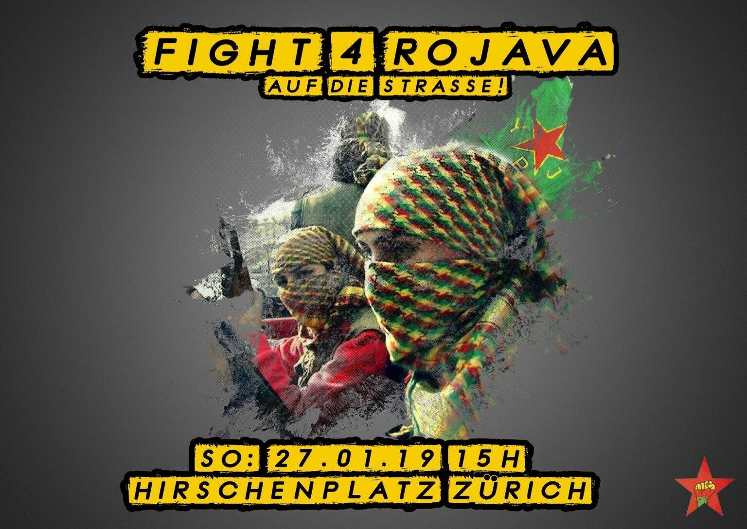 L'appel à la journée d'action à Zürich