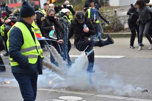 Incidents à Paris ce samedi