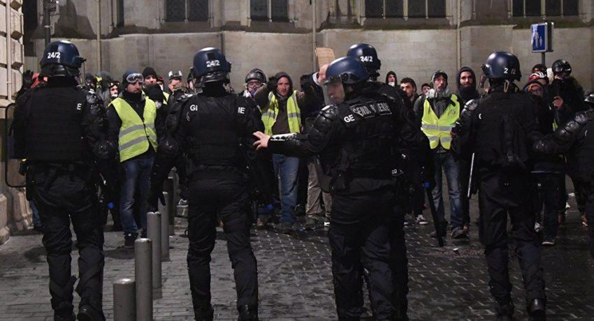 Arrestations de Gilets jaunes à Bordeaux (archive)
