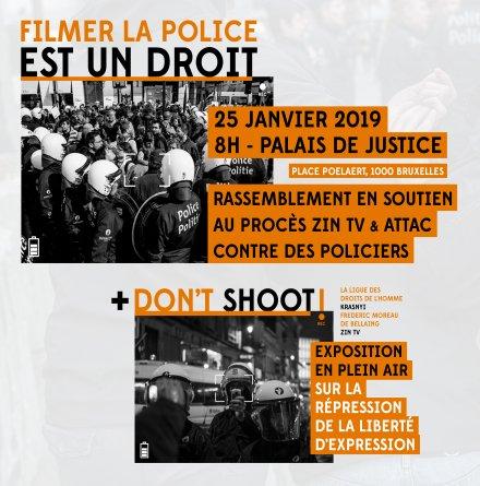 L'affiche du rassemblement