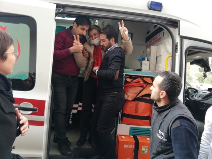 La libération de leyla Güven