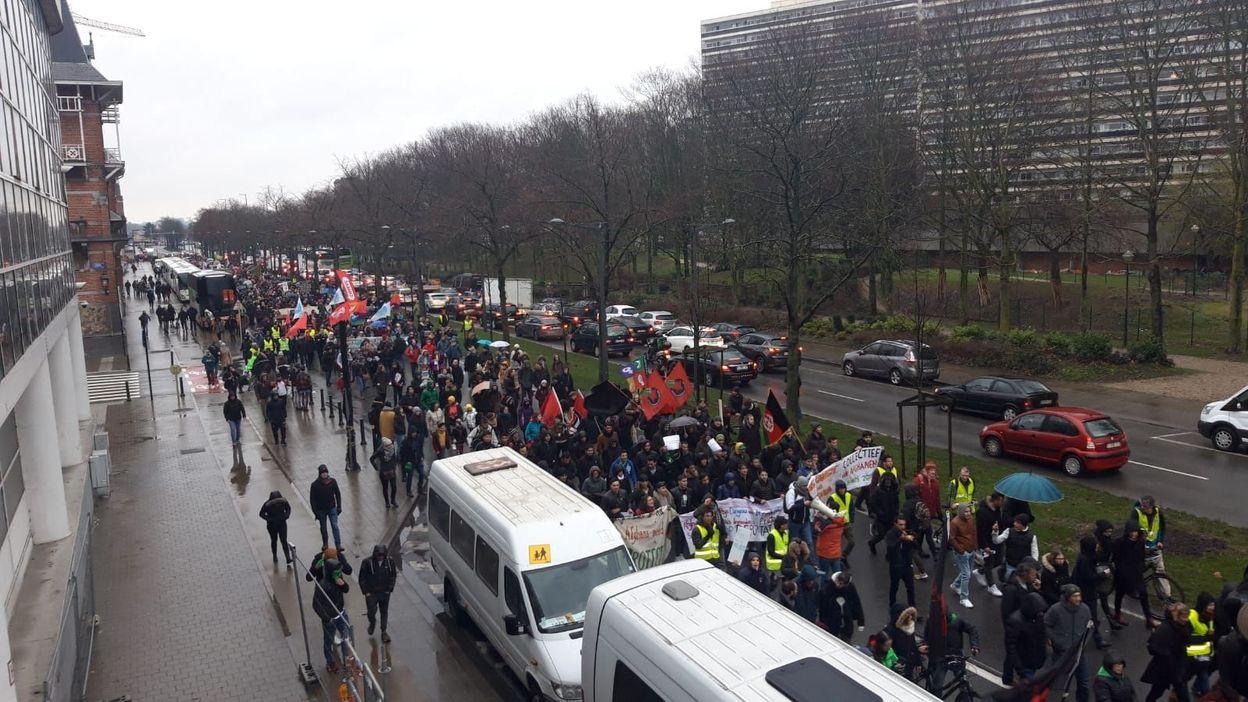 La manifestation de cet après-midi à Bruxelles