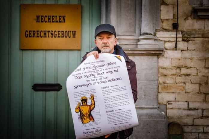 Peter Terryn devant le tribunal de Malines