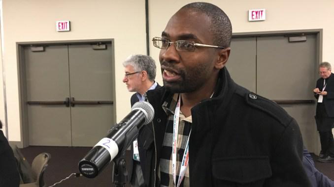 Peter Mutasa, président du ZCTU