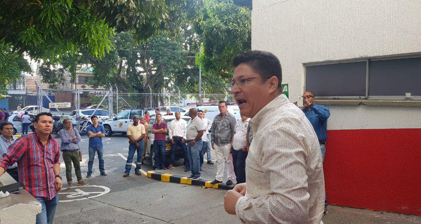 Ricardo Muñoz, président du Sintraemcali
