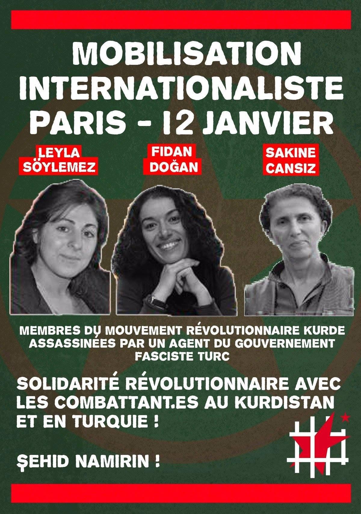 Mobilisation à Paris