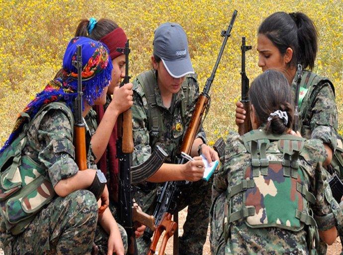 Combattantes kurdes au Rojava (archive)