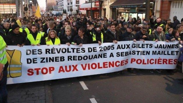 La manifestation d'Argentueil