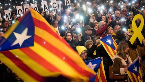 La menifestation de Barcelone