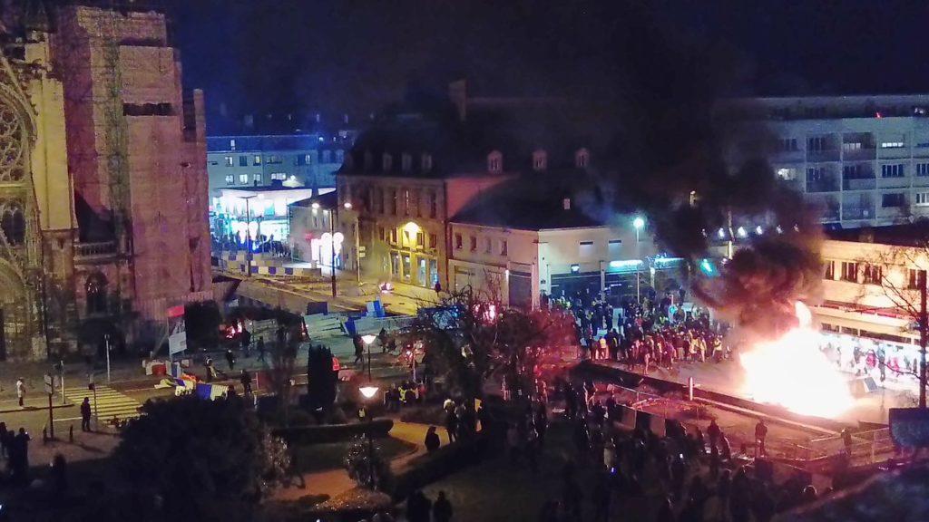 La manifestation du 5 janvier à Caen