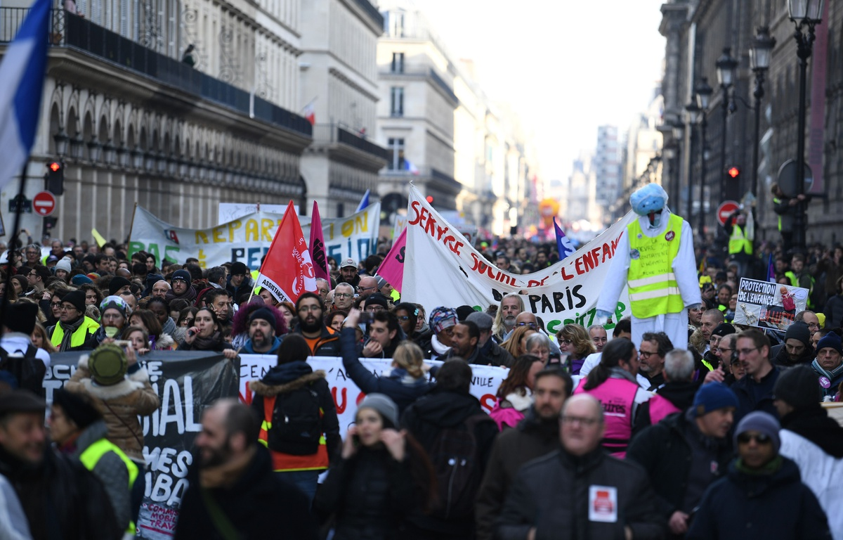 La manifestation de Paris