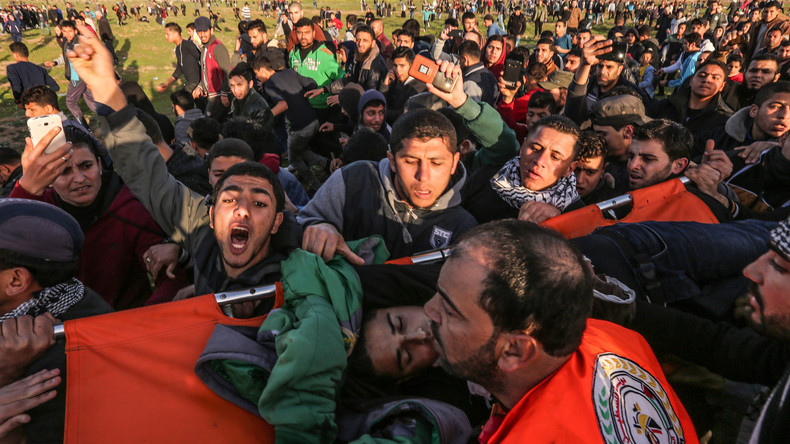 Evacuation d'un des blessés de ce vendredi 8 février
