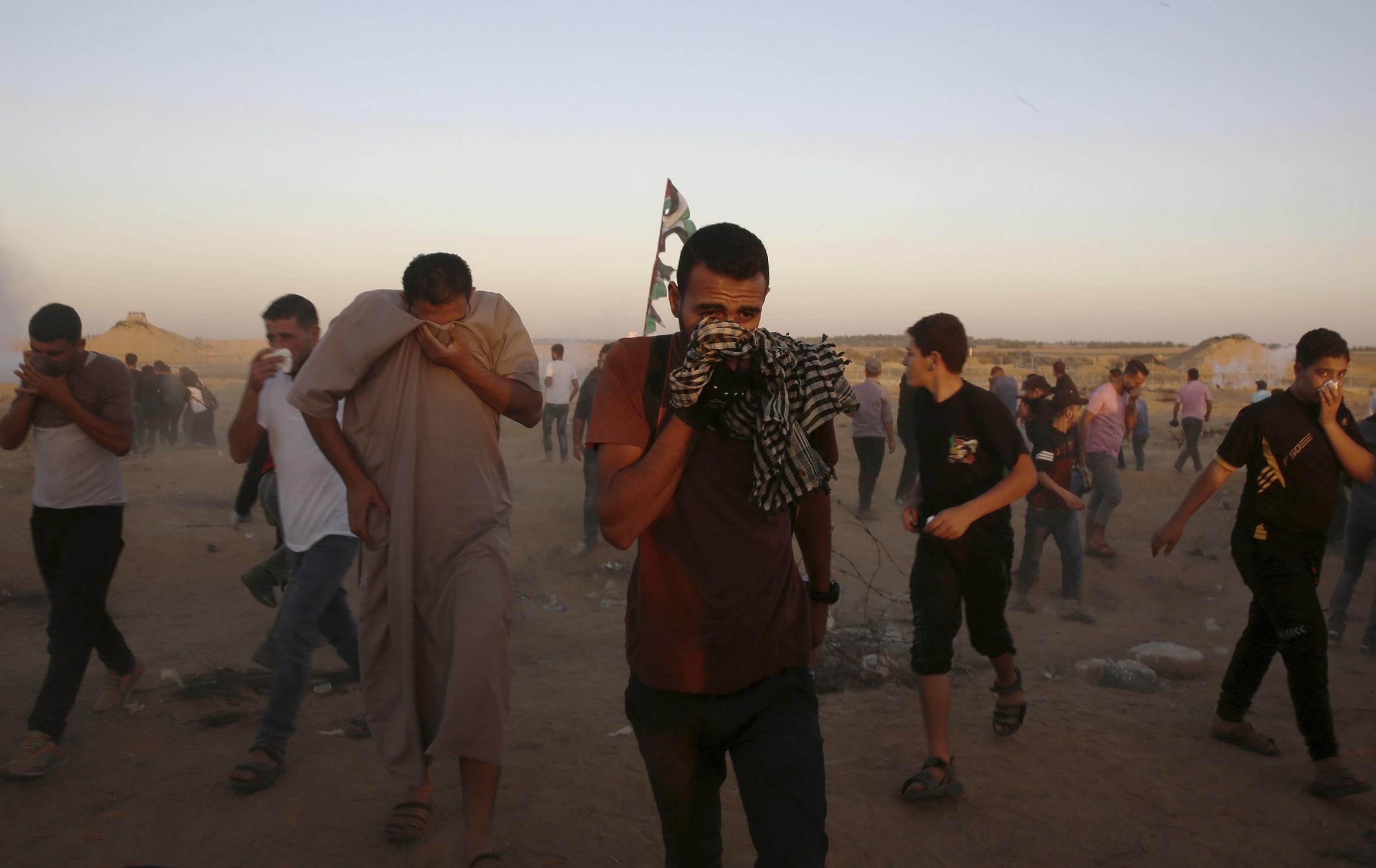 Manifestants à Gaza (archives)