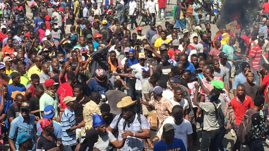 Manifestation jeudi à Haiti