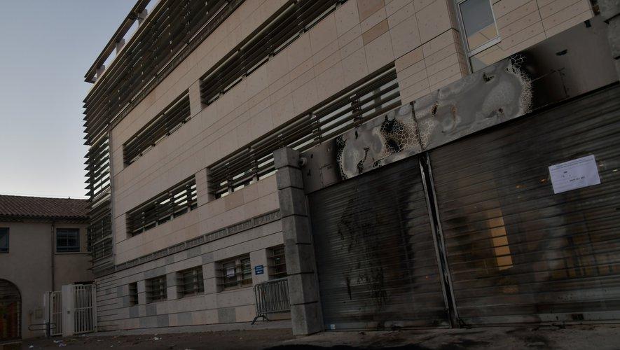 Le centre des impôts de Nîmes