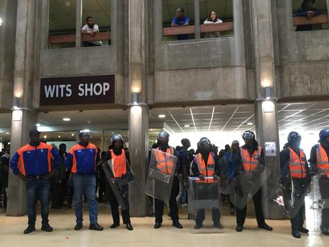 Incidents à la WITS