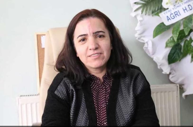 Yeliz Karaaslan, candidate au poste de maire adjoint du Parti démocratique populaire (HDP) pour Ağrı