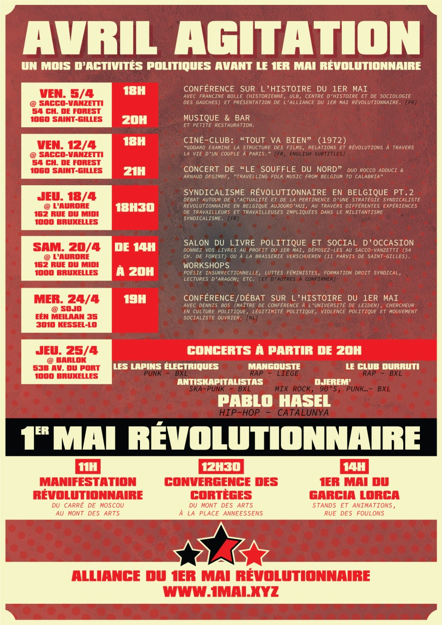 Avril Agitation