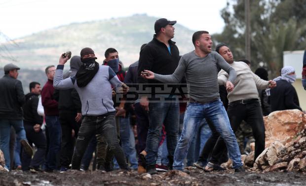 Les affrontements de vendredi à Kufr Qadoom
