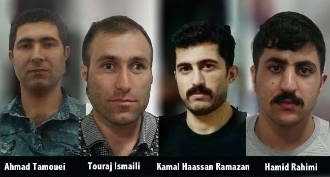 Les quatre prisonniers en procès pour avoir manifesté contre leurs conditions de détention
