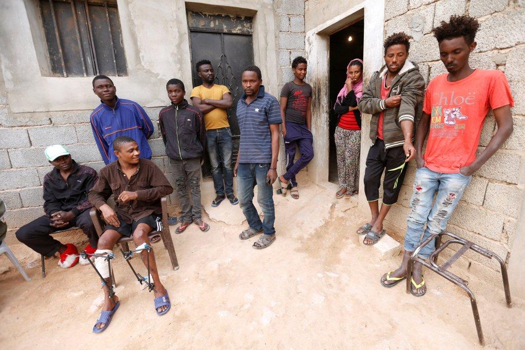 Migrants détenus en Lybie