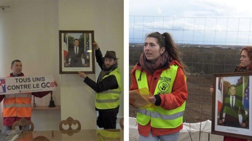 Le décrochage et la ballade du portrait à Strasbourg