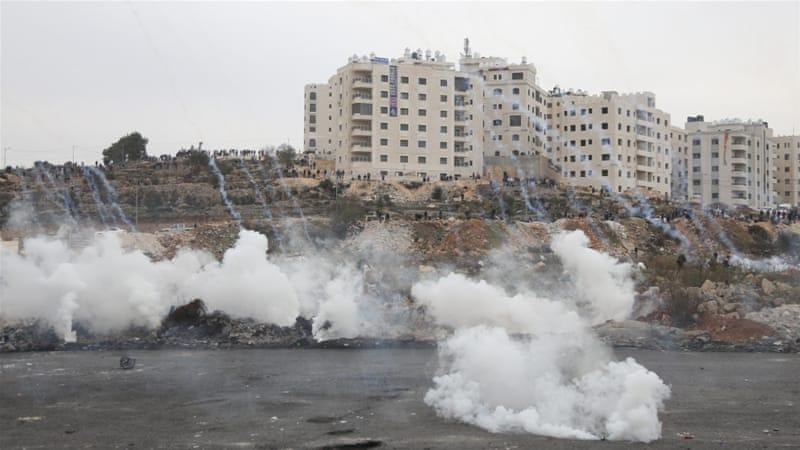 Lacrymogènes sur Ramallah (archives)