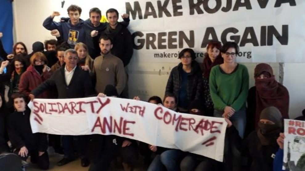 Solidarité avec Anne Dalum