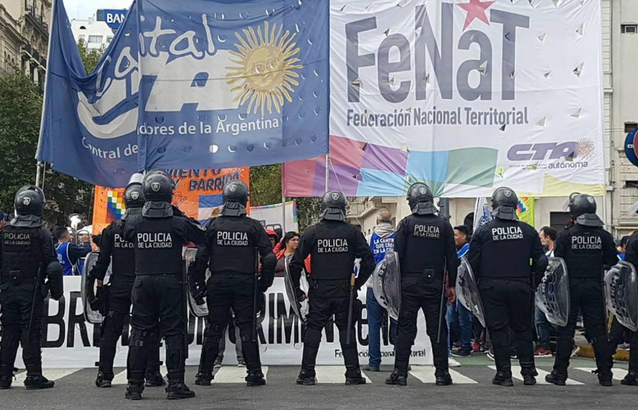 La manifestation de Buenos Aires