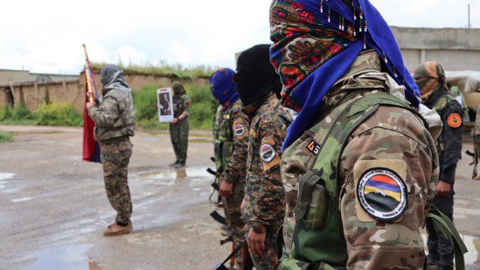 Le bataillon arménien à sa création