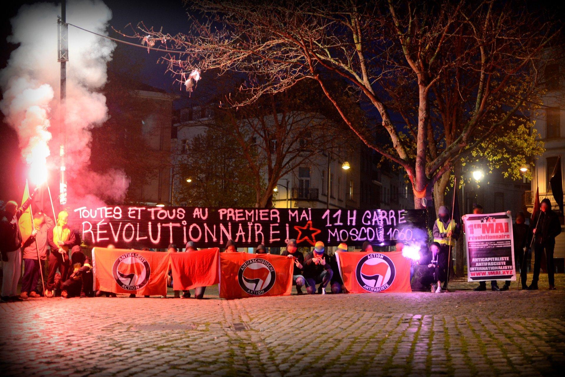 Tous et toutes au Premier mai révolutionnaire!