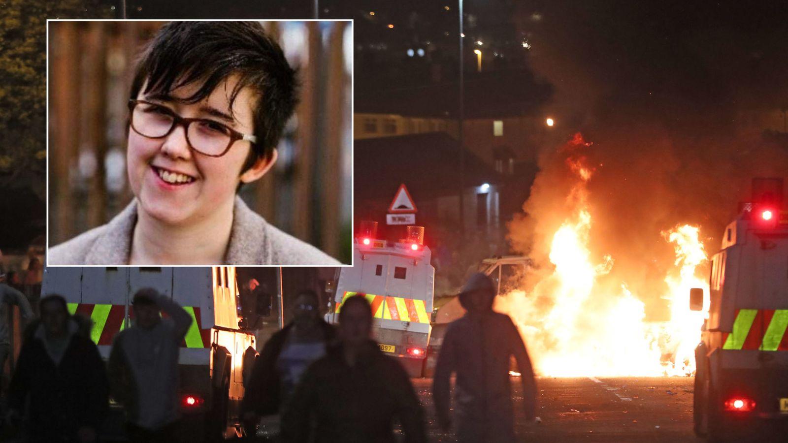 Lyra McKee et les affrontements de jeudi soir à Derry