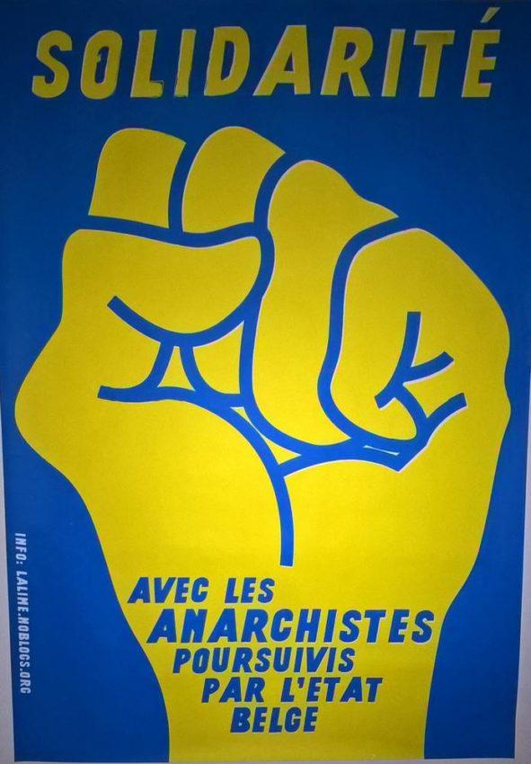 Affichage solidaire à Bruxelles