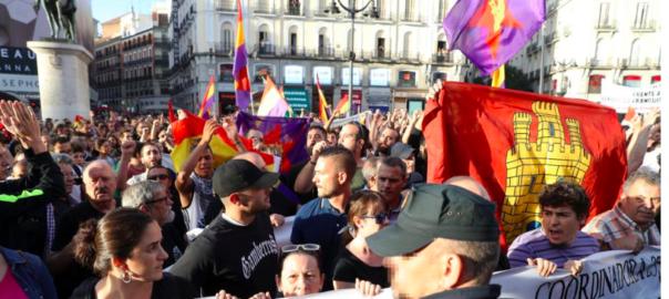 Le rassemblement de soutien au peuple catalan