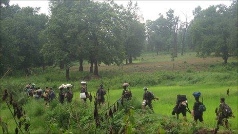 Guerilleros maoïstes